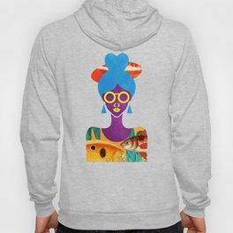 Girl with Sea Monster Shirt Hoody