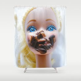 Chica chocoholica Shower Curtain