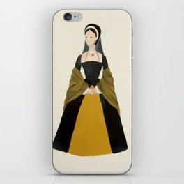 Anne Boleyn - The Six Wives of Henry VIII Original Acrylic on Canvas iPhone Skin