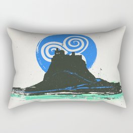 Holy Island of Lindisfarne, Northumberland, England Rectangular Pillow