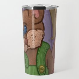Corduroy: The Buttonless Bear Travel Mug