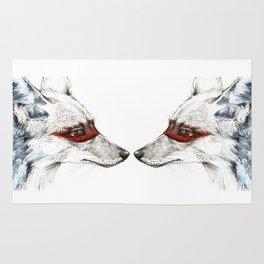 Twin Coyotes Rug