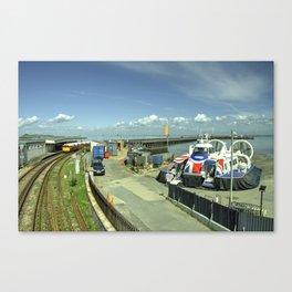 Ryde Rail - Craft Canvas Print