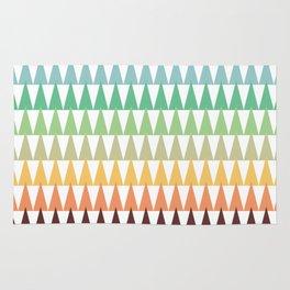 Colorful Corn Mountains Rug