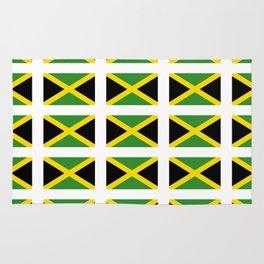 Flag of Jamaica 2-Jamaican,Bob Marley,Reggae,rastafari,cannabis,ganja,america,south america,ragga Rug