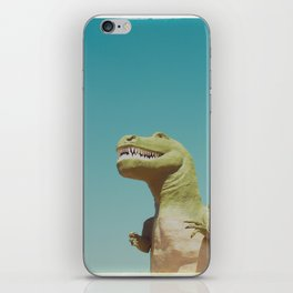 Dinosaur in Palm Springs Photography iPhone Skin