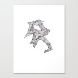 Collar Canvas Print