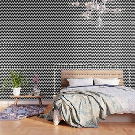 Classic Modern Chevron Pattern Wallpaper