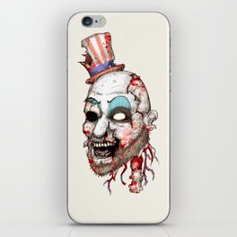 Captain Zombie iPhone Skin