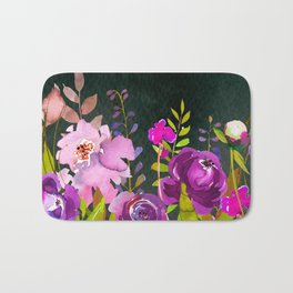 Flowers bouquet #47 Bath Mat