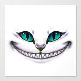 CHESIRE SMILE Canvas Print