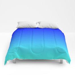 Caribbean Water Gradient Comforters