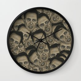 Steve Buscemi Wall Clock