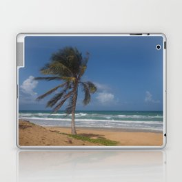 Karon Beach palm tree Laptop & iPad Skin