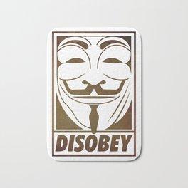 Disobey Bath Mat