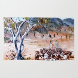 Australia 'Homeward Bound'           by Kay Lipton Rug