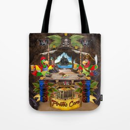 Pirates Cove Tote Bag