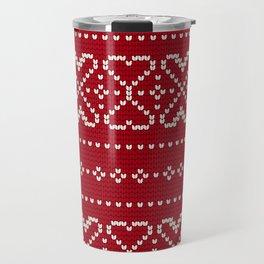 Pattern in Grandma Style #67 Travel Mug