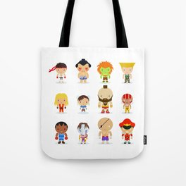 Street fighter - the world warrior Tote Bag