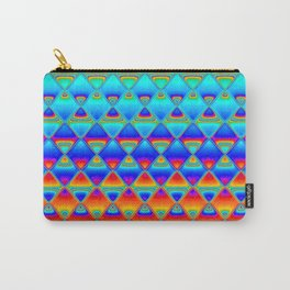 neon tiles Carry-All Pouch
