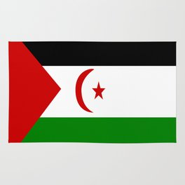 Flag of Western Sahara Rug