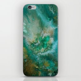 Dawning of a Galactic Planet iPhone Skin