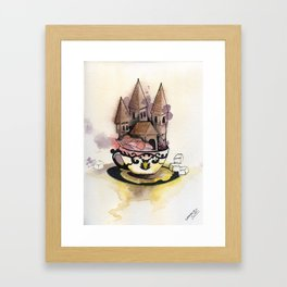 Sweet Chateau Framed Art Print
