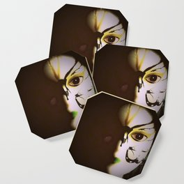 Doll In Color Coaster