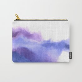 Purple Sky, White Light - abstract Carry-All Pouch