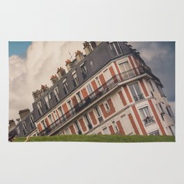 Tilted house of Paris Rug