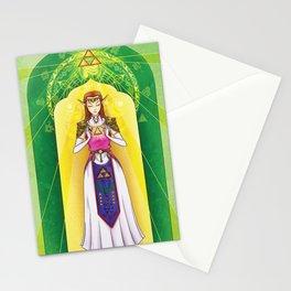 Princess Zelda - Triforce of Wisdom Stationery Cards