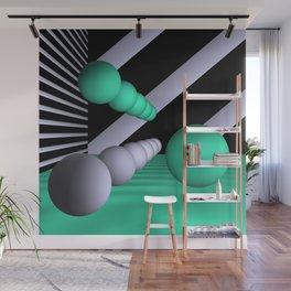3D-geometry -10- Wall Mural