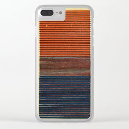 Antique Color Grades Clear iPhone Case
