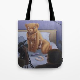 Porn Star Teddy Tote Bag
