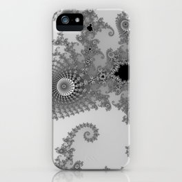 males mandelbrot abstract iPhone Case