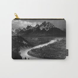 Ansel Adams - The Tetons and Snake River Carry-All Pouch