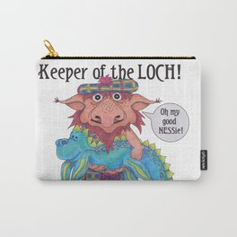 Keeper of the LOCH! Carry-All Pouch