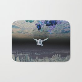 A Skydiver Between Two Parallel Universes Bath Mat