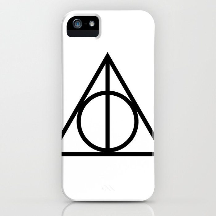 Deathly Hallows Symbol Iphone Case By Msphalange Society6