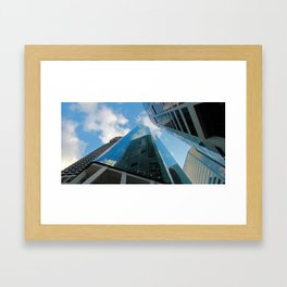Sky Scraping Framed Art Print