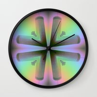 atlanta Wall Clocks featuring Westin Atlanta by Katie Troisi