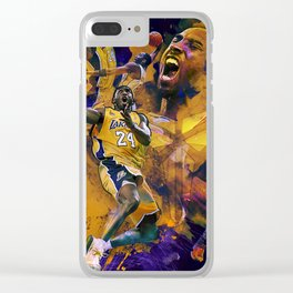 Lakers Legend Clear iPhone Case
