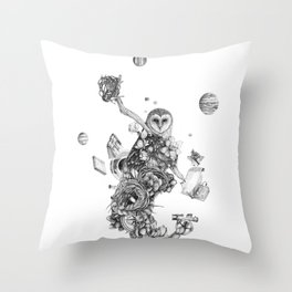 Source of All Knowledge Throw Pillow