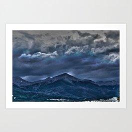 Storms a Commin' Art Print