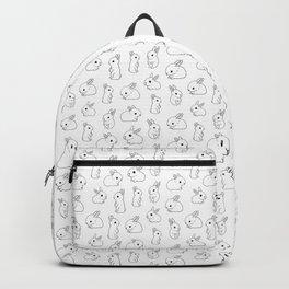 Funny tiny bunny Backpack