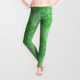 Fern Petal Rose Leggings