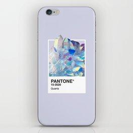 PANTONE SERIES – QUARTZ iPhone Skin