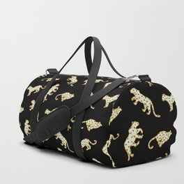 Leopard at Night Duffle Bag