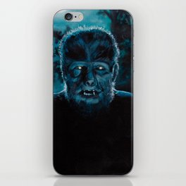 Wolf-Man on the Hunt iPhone Skin