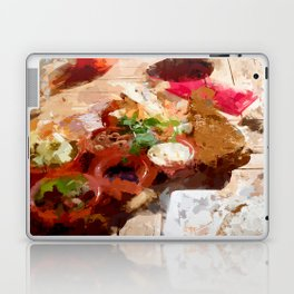 Breakfast for tourists in Groningen - Netherland Laptop & iPad Skin